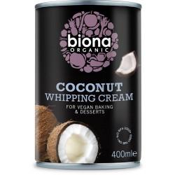 Kokos vispgrädde 400 ml, Biona