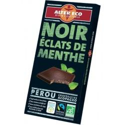Mörk choklad, mynta 100 g,...