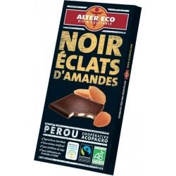 Mörk choklad, mandel 100g,...