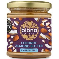 Mandel-kokossmör 170 g, Biona