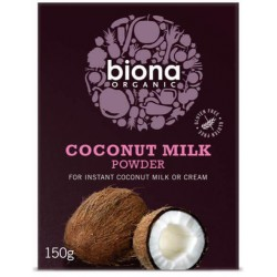 Kokosmjölkspulver 150 g, Biona