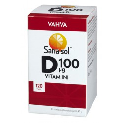 Sana-Sol Strong vitamin D,...