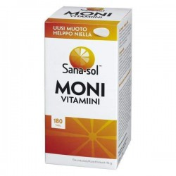 Sana-sol Sana-sol Monivitamiini, 180 tabl