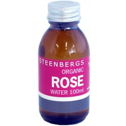Rose water 100 ml, Steenbergs