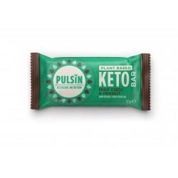 Keto-proteiinipatukka, minttusuklaa & maapähkinä 50 g, Pulsin