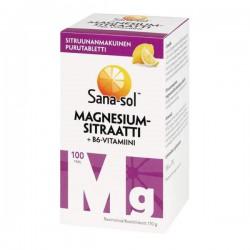 Sana-sol Magnesium citrate...