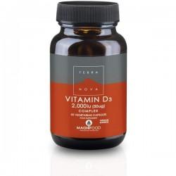 D3-vitamiini 50 ug Complex,...