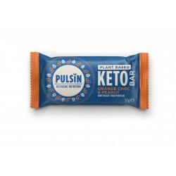 Keto-proteiinipatukka, appelsiinisuklaa & maapähkinä 50 g, Pulsin