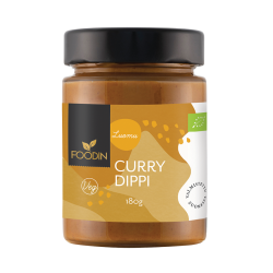 Currydippi, luomu, 180g