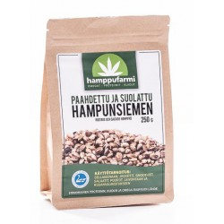 Roasted and salted hemp...