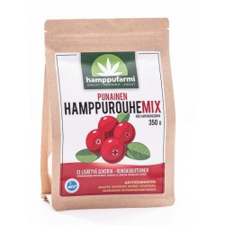 Rött hampagryn MIX 350g