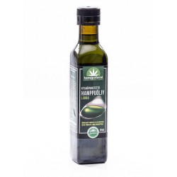 Cold pressed hemp oil,...
