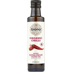 Chili olive oil 250 ml, Biona