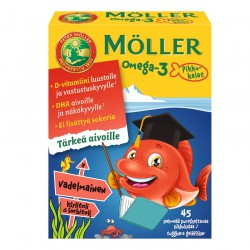 Möller Omega-3 Small fish,...