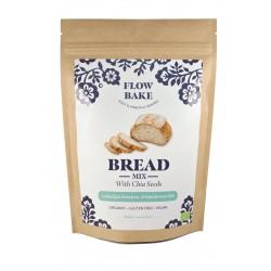 Flow Bake - Luomu Leipäjauhoseos chiasiemenillä, 320 g