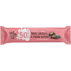 Not Guilty Suklaapatukka cashewpähkinätäytteellä 30g