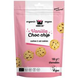 Minikaurakeksi, vanilja & suklaahippu 100 g, Kookie Cat