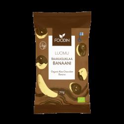 Raw chocolate banana,...