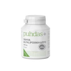 Vahva Alfalipoiinihappo 250 mg, 60 kaps, Puhdas+