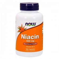 Now Foods Niacin 500 mg,...