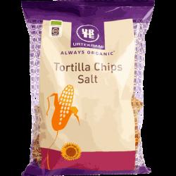 Tortilla chips, suolattu, luomu 125g