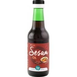 Seesamiöljy, paahdettu 250 ml, TerraSana