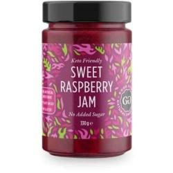 Raspberry jam, keto 330 g,...