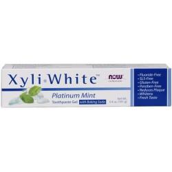 NOW Foods XyliWhite Platinum Mint hammastahna 181g
