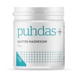 Quattro magnesium jauhe 150 g, Puhdas+