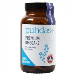 Premium Omega-3, 100 kaps, Puhdas+
