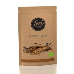 Cordyceps-uutejauhe, Luomu 50 g