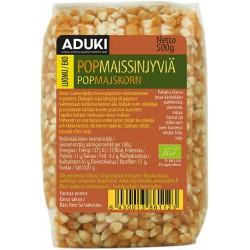 Popcorn-maissinjyvät 500 g, Luomu