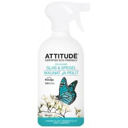 Lasinpuhdistussuihke, Sitrus 800 ml, Attitude