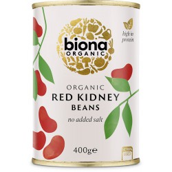 Punainen kidneypapu, vedessä 400 g, Biona