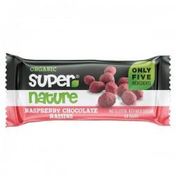 Raspberry chocolate raisins...