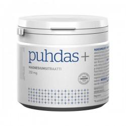 Magnesiumsitraatti 250 mg, 150 g, Puhdas+