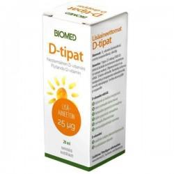 Liquid Vitamin D, 20 ml,...