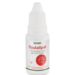 Rautatipat 15 ml, Biomed