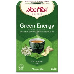 Green Energy tee 17 kpl, YogiTea
