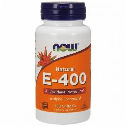NOW Foods E-400, 100 kaps