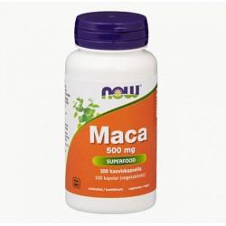 NOW Foods Maca 500 mg, 100 kaps