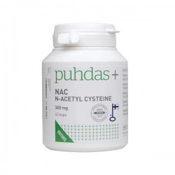 NAC 300 mg, 60 kaps, Puhdas+
