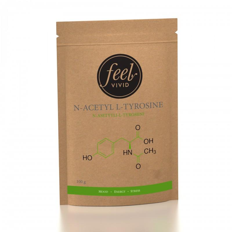 N-Asetyyli L-tyrosiini 100 g