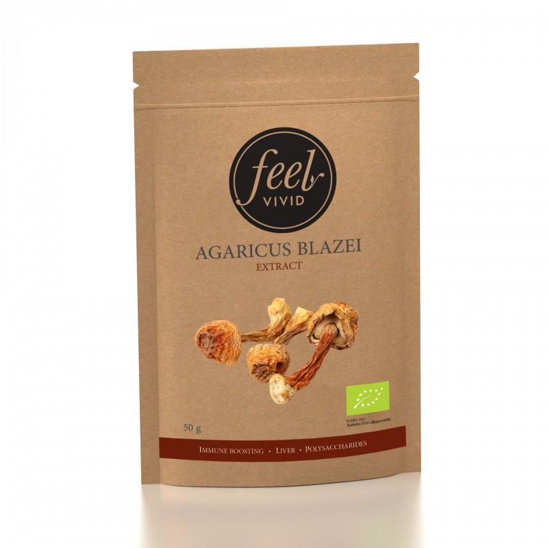 Agaricus Blazei-uutejauhe 50 g, Luomu