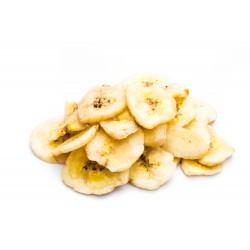 Banan chips 600 g, Ekologisk