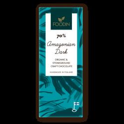 Rå choklad, 70% Amazonian...