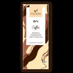 Rå chokladkaffe, ekologisk