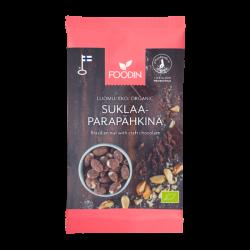 Raw chocolate Brazil nut,...