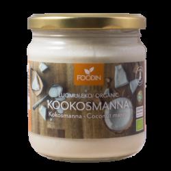 Kokosnöt, rå, organisk, 400 ml