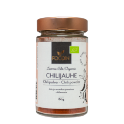 Chilipulver, organisk 80 g